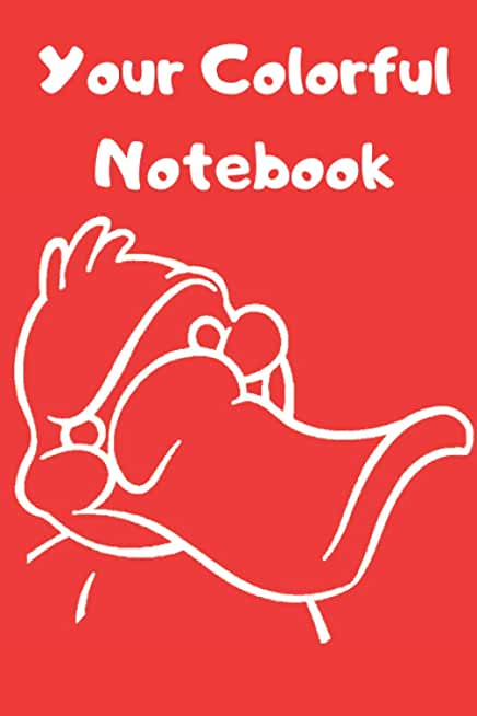 Notebook: Platypus Pattern Unlined/Plain Notebook - Large (6 x 9 inches) - 100 Pages