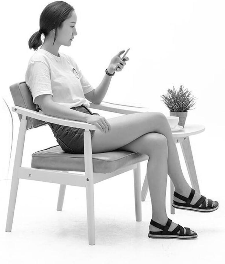 Chaises Fauteuil en bois massif Fauteuil Chaise à manger Chaise d'étude Chaise de bar Chaise de café (Couleur : C) I