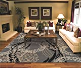 Large Area Rugs for Living Room 8x10 Gray