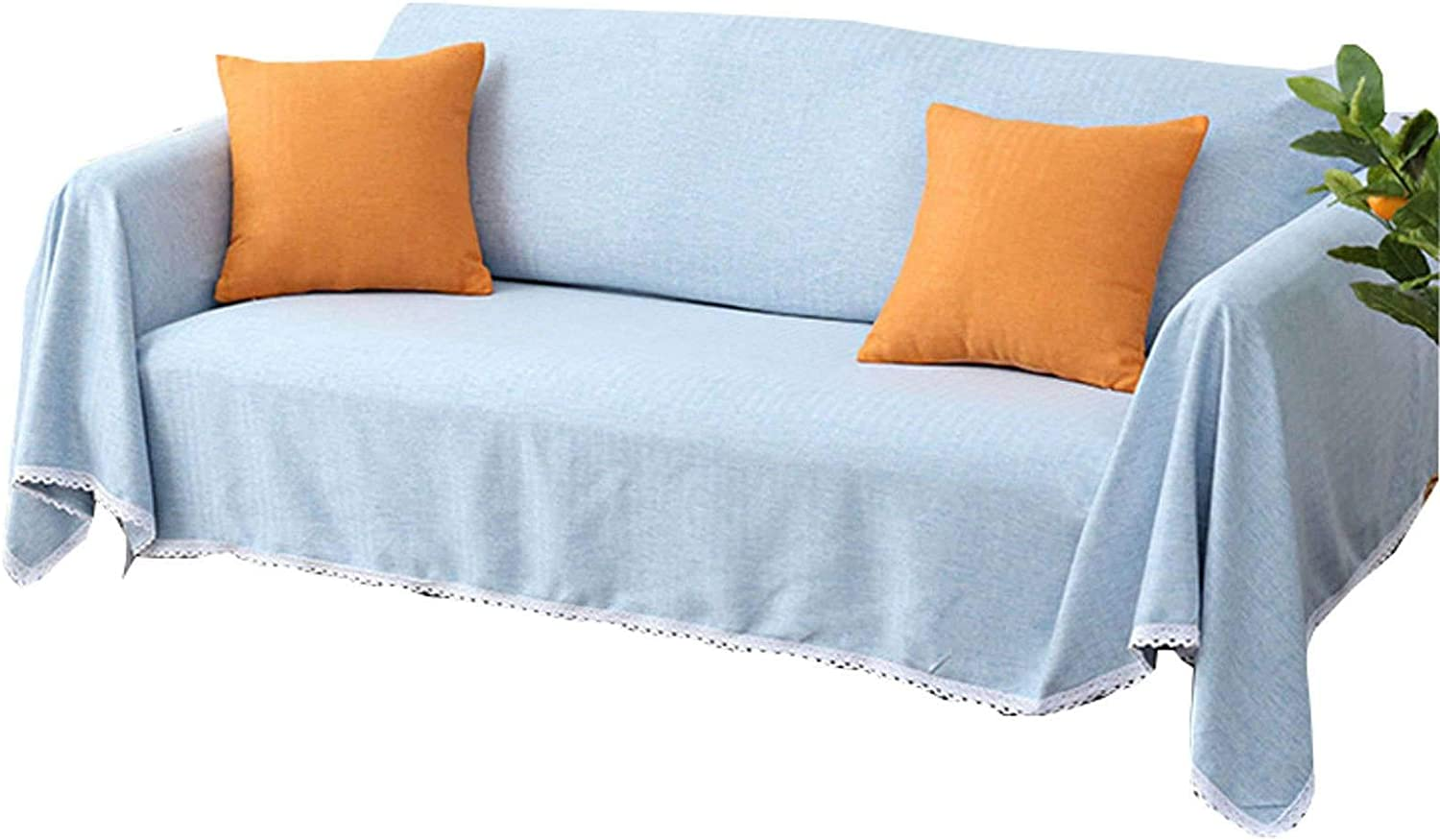 ZHFEL Sofa Slipcover Solid 5% OFF Color Universal Couch Cus Cover Bombing free shipping for 3