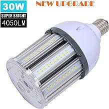 30W LED Bulb(200-250W Halogen Bulb Equivalent) LED Corn Light Bulbs Daylight 5000K E26 Medium Base Bulb 4050 Lumens, for Home Garage Warehouse Workshop Lighting