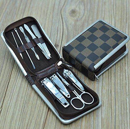 Kotiger Soin des ongles personnels Manucure Pédicure Set/kit de voyage Personnel et d'outils de ergonomique ongles tondeuse