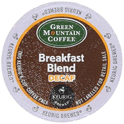 Keurig K-Cup Green Mountain Coffee Breakfast Blend Decaf (18 k-CUPS)