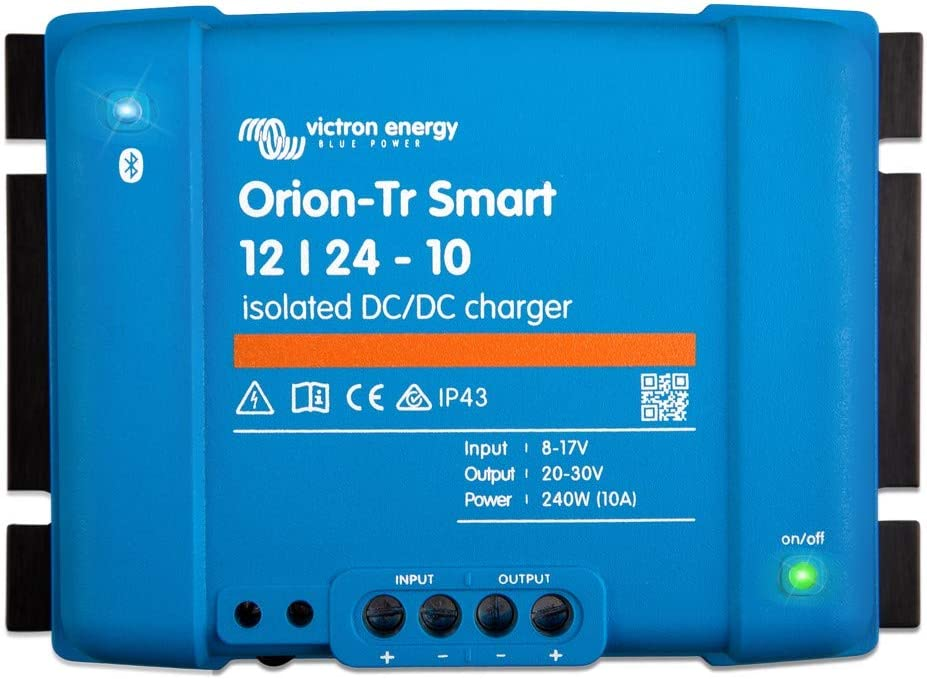 Victron Energy Orion-Tr Smart 12//24-Volt15 amp 360-Watt DC-DC Charger Isolated Bluetooth