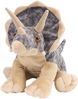 "Wild Republic 10960 Triceratops Plush, Dinosaur Stuffed Animal, Plush Toy, Gifts for Kids, Cuddlekins, 12"", Multi"