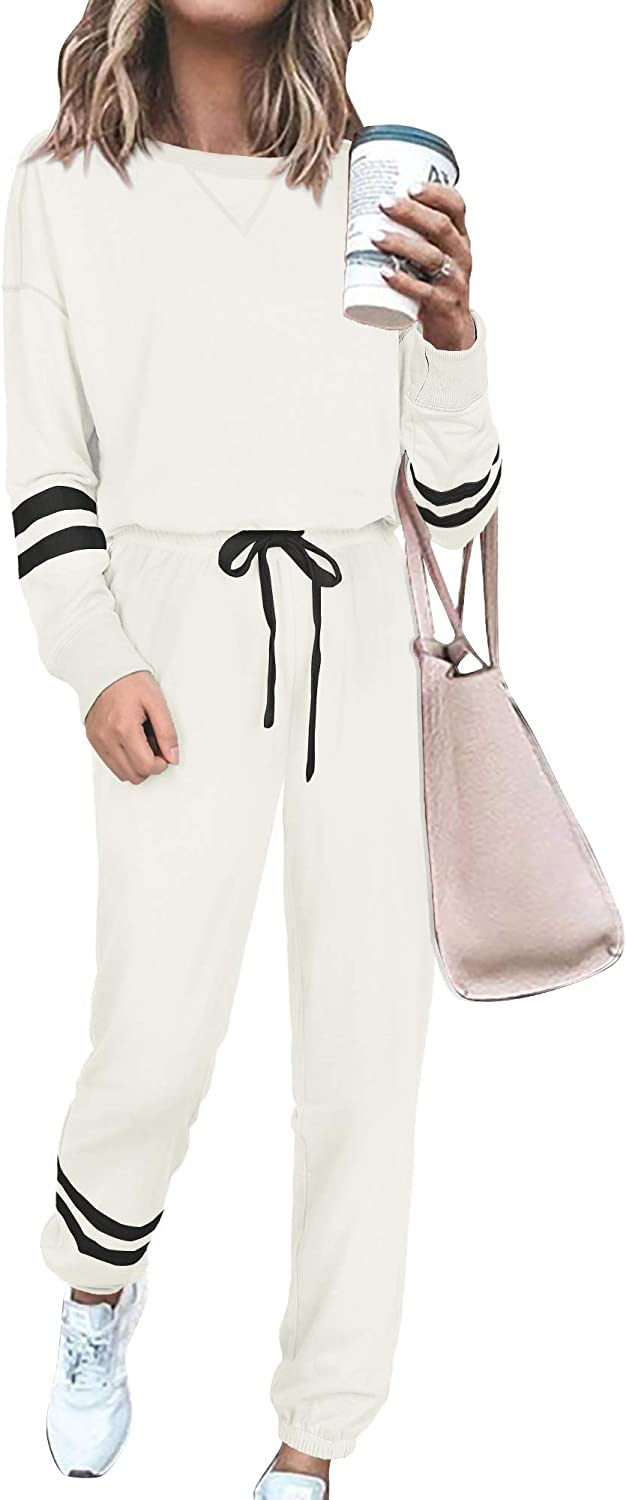 SIEANEAR Womens 2 Pieces Long Loungewear C Sweatsuit Max 65% OFF 70% OFF Outlet Sets Sleeve