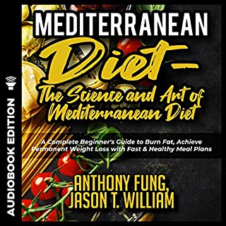 Mediterranean Diet - the Science and Art of Mediterranean Diet #2019 audiobook cover art