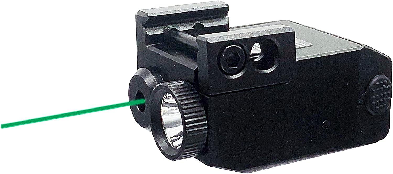 HiLight P3XL Pistol Flashlight Green Laser Sight Combo