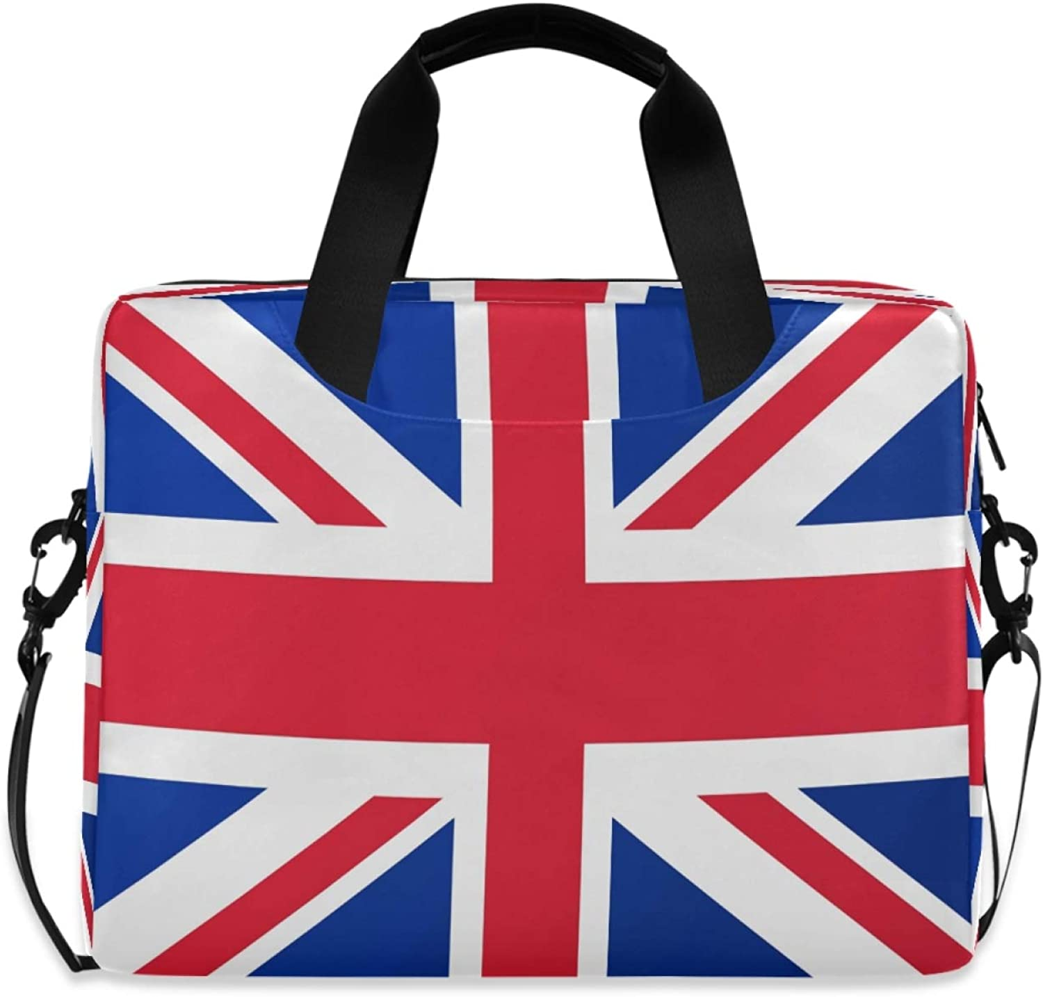 MLHlover Uk Flag Free shipping anywhere in the nation Print 16 inch Case Shoulder Bag Carrying Laptop OFFicial