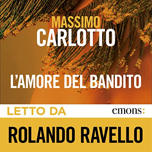 L'amore del bandito audiobook cover art