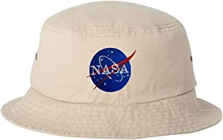 Adult NASA Insignia Logo Embroidered Bucket Cap Dad Hat