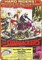 サイドハッカーズ映画 金属板ブリキ看板警告サイン注意サイン表示パネル情報サイン金属安全サイン
