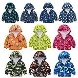 Kehen- Kid Lightweight Jacket Toddler Baby Mesh Hoodie Windbreaker Boy Girl Spring Autumn Trench Coat Raincoat (03 Green,18-24 Months)
