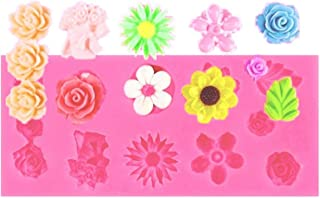 シリコンモールド シリコン 型 お花 12種類