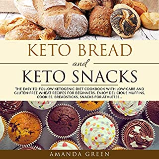 Keto Bread and Keto Snacks cover art