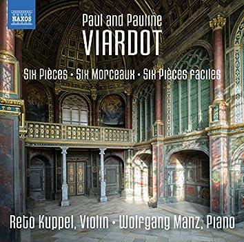 Paul & Pauline Viardot: Works for Violin & Piano