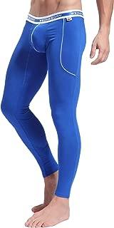 Men's Low Rise Leggings Long Johns Thermal Pant