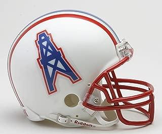 Houston Oilers 81-96 Riddell VSR4 Mini Replica Football Helmet
