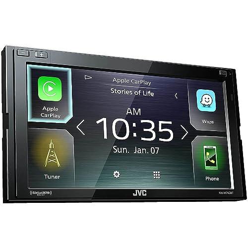 JVC KW-M740BT Apple CarPlay, Android Auto 2-DIN AV Receiver (No