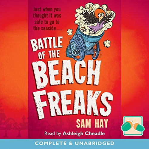 Battle of the Beach Freaks audiobook cover art