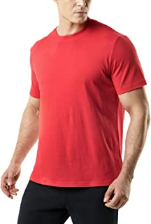 TSLA Men's (Pack of 1, 2) Workout Running Shirts, Quick Dry Cool-Dri Short Sleeve Athletic Shirts, Active Sport Gym T-Shirts