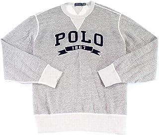 Ralph Lauren Mens Fleece Logo Pullover Sweater