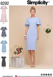 Simplicity Vintage US8292R5 Simplicity Dresses, 14-16-18-20-22