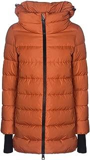 Herno Luxury Fashion Womens PI0660D120045493 Orange Down Jacket | Fall Winter 19