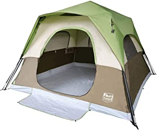 Timber Ridge Camping Tent 6 Person Instant Tent 10x10...