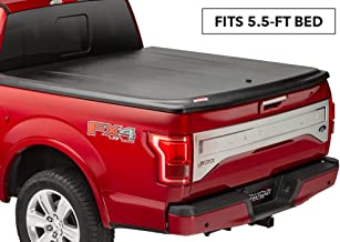 UnderCover SE One-Piece Truck Bed Tonneau Cover | UC2146 | fits 2009-2014 Ford F-150 5.5ft Short Bed Ext/Crew