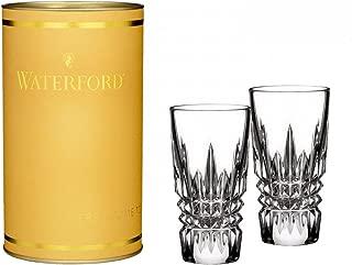 Waterford Crystal Giftology Lismore Diamond Shot Glass, Pair
