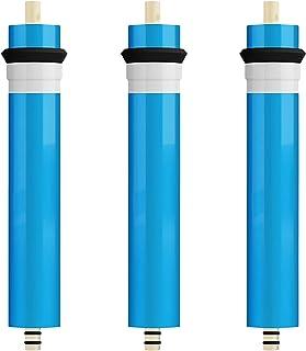 Membrane RO 100 GPD, Remplacement De Filtre À Osmose Inverse pour Système De Purification d'eau RO Potable sous Évier À Do...