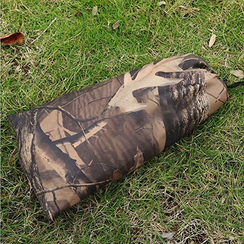 Samfox Zeltabdeckung, wasserdichte Outdoor tragbare Armee Camo Zelt Tarp Shelter Regenschutzmatte(3 x 2.9m)