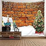 KnBoB Tapiz Pared Decorativo Pared del Árbol de Navidad del...