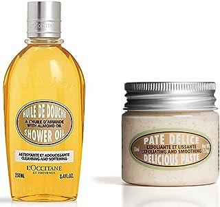 L'Occitane Almond Shower Oil, 250ml+L'Occitane Almond Delicious Paste, 50ml