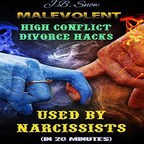 Malevolent High Conflict Divorce Hacks Used by Narcissists: In 20 Minutes audiobook cover art