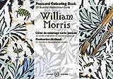 Pepin William Morr Cartolina per Acquarelli, 10.5 X 15 cm: Postcard Colouring Book / Postkarten - Malbuch