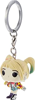 Funko Pop! Keychains: Birds of Prey - Harley Quinn (Caution Tape) Multicolor, 1 x 1 x 2 inches