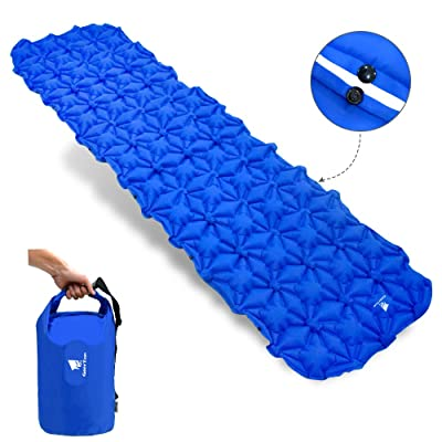 Geertop Ultralight Inflatable Sleeping Pad Fold...