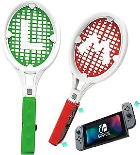 【2021新発売】 Nintendo Switch テニスラケット マリオテニス エース Joy-Conハンドル 体感コントロールゲーム マリオテニス用Nintendo Switch Joy-Con マリオテニス エース(2)ハンドル スイッチ...