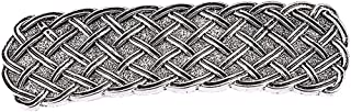 F Fityle Antique Viking Celtic Irish Knot Hair Clip Barrettes Hairpin Ponytail Holder Women Girls - SIlver 4