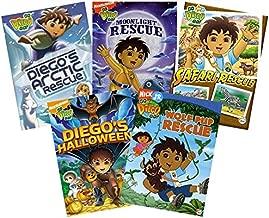 Go Diego Go DVD Set - Go Diego Go! - Moonlight Rescue/ Ready, Set, Go!/ Safari Rescue/ Underwater Mystery/ Diego's Arctic Rescue