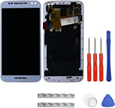 swark LCD Display Compatible with Motorola Moto X Style XT1570 XT1572 XT1575 (White) Digitizer Touch Screen Assembly+ Tools