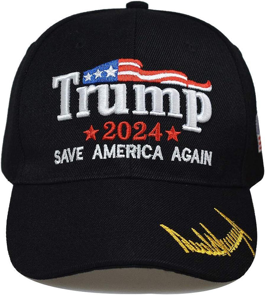 IdealforceTrump Hat 2024 MAGA Adjustable Trump Hat Baseball Cap