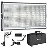 Neewer Pannello Luce LED Bicolore Dimmerabile Professionale per Fotografia in Studio, Yout...