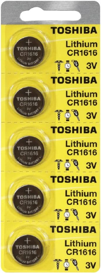 Toshiba CR1616 Gorgeous Battery 3V excellence Lithium Batteries 100 Cell Coin