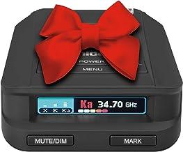 Uniden DFR9-BLK Black Super Long Range Laser/Radar Detector, Built-in GPS w/Real-Time Alerts, Voice Alerts, Red Light Came...
