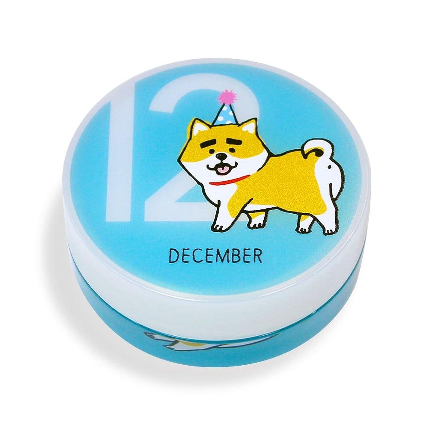 例示する近々適切なしばんばん フルプルクリーム 誕生月シリーズ 12月 20g