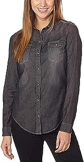 Calvin Klein Jeans Women's Women's Long Sleeve Denim Button Down Shirt