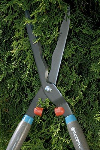 Gardena 391-20 Classic 540 Tagliasiepi, Robuste Forbici per Erba per Tagliare Arbusti, Lama con Affilatura Ondulata, 54 cm